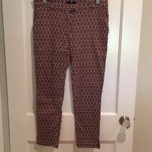 H&M - Mosaic Patterned pencil pants